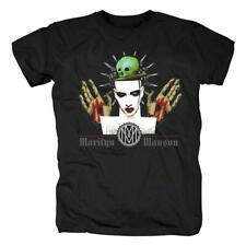 New Marilyn Manson Tee Shirts Us Metal Rock Band T-Shirts