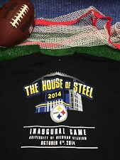 PITTSBURGH STEELERS 2014 The house of steel U OF M inaugural SHIRT X-Large XL 28