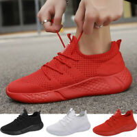 Mens Running Casual Shoes Lightweight Jogging Outdoor Breathable Tennis Sneakers