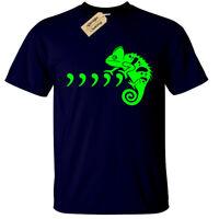 Comma Chameleon T-Shirt mens S-5XL funny joke gift present mens 80s 90s