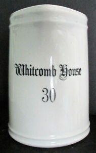 WHITCOMB HOUSE Hotel Rochester NY China Water Pitcher By Union Porcelain Works