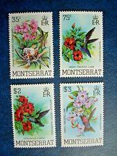 MONTSERRAT 1983 HUMMING BIRDS SET MNH SG571/4