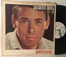 JACQUES BREL Self Titled PROMO LP REPRISE RECORDS R-6187 (1965) VG+ VINYL