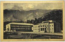 Cartolina Formato Piccolo - Perosa Argentina m. 620 - Scuole E Palazzo Degli Uff