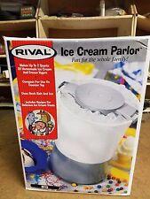 New Rival ice cream parlor ice cream maker #8210 NIB NOS