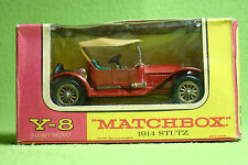Modellauto - Matchbox - Models of Yesteryear Y-8 - 1914 Stutz - OVP