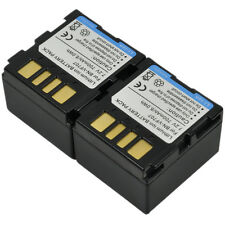2 Battery+Charger fr JVC BN-VF707 VF707L VF707U VF707US VF714 VF733 LY34647-002B