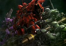 Mobile Suit Gundam Unicorn UC Japan Anime Art Silk Poster 24x36inch