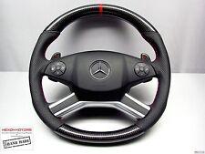 Mercedes W164 ML63 AMG W251 R63 X164 GL63 AMG Custom CARBON Thick STEERING WHEEL