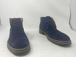 Wolverine 1883 Mens Francisco Chukka Boot Navy Suede Size 12M US