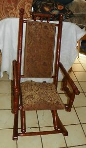 Cherry Sling Rocker / Rocking Chair   (R184)