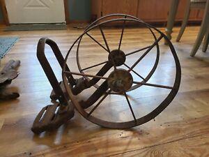 Antique Planet Jr Junior Double Wheel Cultivator Seeder Planter