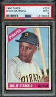 1966 TOPPS #255 WILLIE STARGELL PSA 9 PIRATES HOF  *ADT3758