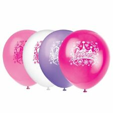 """Princess Diva Birthday Party 12"""" Latex Balloons, Assorted Colors 8 ct (3 Pack)"""