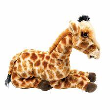 Aurora World Destination Giraffe Plush 12in Stuffed Animal Toy Laying Down