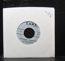 "The Knickerbockers - Lies / The Coming Generation 7"" Vinyl 45 VG 1965 Lana 156"