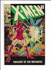 X-MEN #52 ==> FN/VF TWILIGHT OF THE MUTANTS! MARVEL COMICS 1969