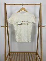 RARE VTG SQUEEZE 1982 Sweets From A Stranger USA Tour V-Neck T-Shirt Size L USA