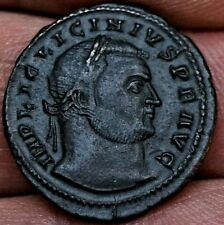 R5 EXCEPTIONALLY RARE LICINIUS I, JUPITER 316 AD Ancient Roman Siscia-Yugoslavia