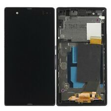 TOUCH SCREEN DISPLAY LCD CON FRAME PER Sony Xperia Z C6602 C6603 L36H LT36i blac