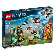 LEGO 75956 HARRY POTTER QUIDDITCH MATCH MISB SEALED NEW + FREE NINJAGO STICKERS