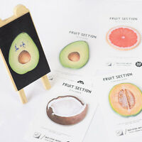 Tropical Fruits Memo Pad Self-Adhesive Sticky Notebook Office School SALE