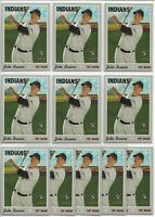2019 Topps Heritage High Number Jake Bauers (11) Card Rookie Lot #556 Indians RC