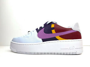 Nike W Air Force 1 Sage Low LX Shoes Dark Orchid UK 7.5 EUR 42 US 10 BV1976 003