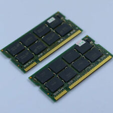 KIT 2GB 2X1GB PC3200 DDR400 400mhz 200PIN CL3 Laptop Speicher SO-DIMM RAM NEU