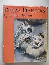 Degas Dancers by Lillian Browse Ballet