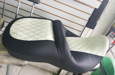Harley Electra Glide Ultra Seat Cover 2014-up Black And White P52000033