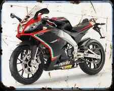 APRILIA Rs4 50 13 03 A4 Metal Sign moto antigua añejada De