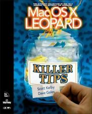 Mac OS X Leopard Killer Tips Scott Kelby Dave Gales Softback Book  FS