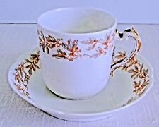 Haviland & Co. Limoges Demitasse Cup and Saucer, France
