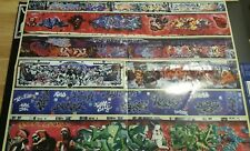 Graffiti poster The Warriors Mezco Vintage New 17x21 / Cope2 / Seen / Banksy