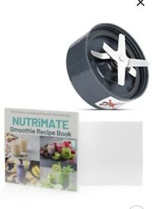 Spare NutriBullet Blade For NUTRIBULLET 600W/900W and Smoothie Recipe Book