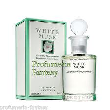 MONOTHEME WHITE MUSK POUR FEMME ML.100 3.4 fl.oz PARFUM