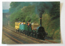 LION LOCO on Keighley & Worth Valley Railway Postcard WV54