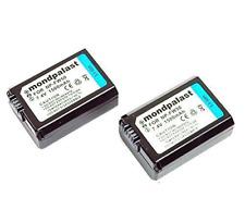 2 x Remplacement Batterie NP-FW50 1500mah avec infochip pour Sony A6000 A5000
