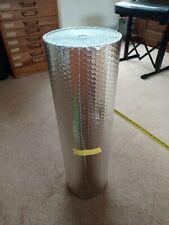 Double Aluminium Bubble Foil Insulation - 0.6m x 6m