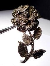 Silver Marcasite Brooch/Pin Art Deco Fine Jewellery