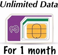 New Three SIM Card 3g pay as you go UNLIMITED DATA & 3000 minutes 3000 texts