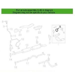 Exhaust Seal Ring Genuine for Mercedes W205 W212 X253 W906 E250 E320 GLK250
