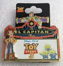 Disney DSF Toy Story 3 El Capitan Theatre Marquee LE 500 Pin Woody Buzz LGM