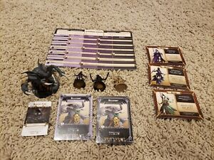 Massive Darkness Bloodmoon Assassins Vs The Hellephant Expansion no box painted