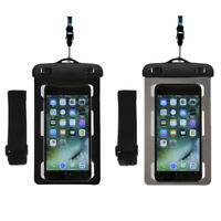 New Universal Waterproof Bag Case Cover Neck Armband Pouch For Mobile Cell Phone