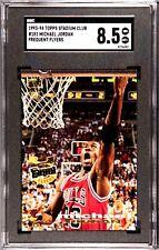 1993-94 Topps Stadium Club Michael Jordan #181 Frequent Flyers SGC 8.5 NM-MT+