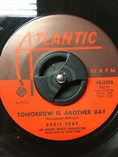 """Northern Soul 45 DORIS TROY """"Tomorrow Is Another Day"""" NM Atlantic"""
