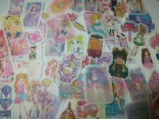 kawaii anime manga expression diary journal sticker flakes washi paper material