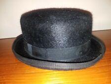 BLACK TOP HAT ladies size 7 Reed Hill 3x beaver VGC